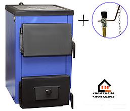 Дровяной котел Spark-Heat - 14П (М) (Спарк-Хит) мощностью 14 кВт и регулятором тяги