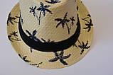 Стильная детская летняя шляпа панамка панама, фото 3