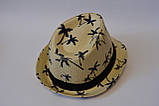 Стильная детская летняя шляпа панамка панама, фото 4
