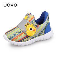Кроссовки детские Желтый жираф Uovo (24)