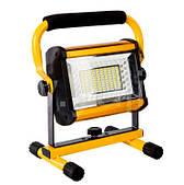 Аккумуляторный LED Прожектор 100 W светодиодный IP65 фонарь  W808