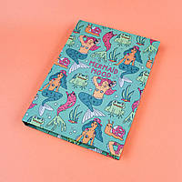 Скетчбук А5 130 страниц Mermaid mood в твердой обложке