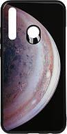 Чехол-накладка TOTO Print Glass Space Case Huawei P Smart+ 2019 Grey 96303, КОД: 1304582