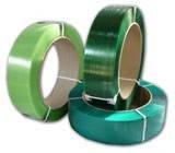 Лента полипропиленновая 12 х 0.6 мм –   3.0км (зеленая) Ø 200мм для полуавтоматов