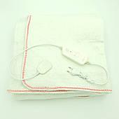 Электропростынь электро грелка электрическая простынь одеяло 150*170 см 150 Вт белая