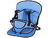 РАСПРОДАЖА!!! Бескаркасное детское автокресло Multi Function Car Cushion СИНЕЕ, фото 3