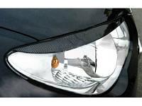 """Накладки на фары (Реснички) Hyundai Elantra """"Широкие"""", фото 1"""