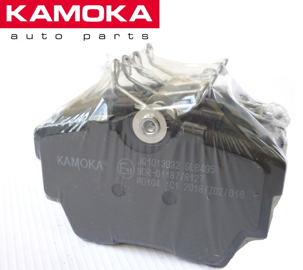 Гальмівні колодки задні на Renault Trafic / Opel Vivaro з 2001... KAMOKA (Польща), JQ1013032