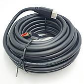 Кабель 4K HDMI to HDMI с поддержкой Ethernet UltraHD 4K шнур 10м черный
