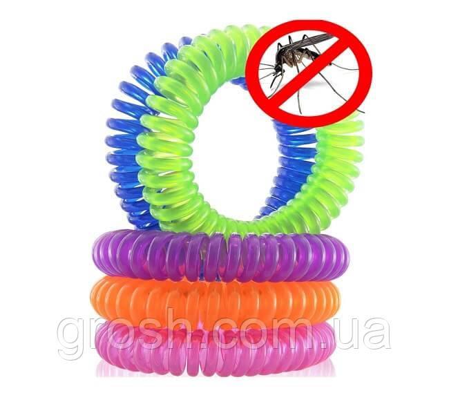 Браслет от комаров Пружинка, силиконовый Frokito