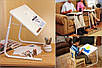 Мобильный складной столик для ноутбука и еды Table Mate II с регулировкой высоты и наклоном, фото 4