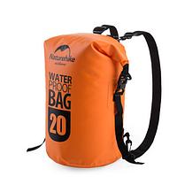 Гермомешок Naturehike Ocean Pack Double shoulder 20 л FS16M020-S orange