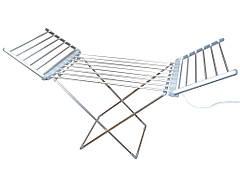 Электрическая сушилка для белья электро сушка напольная раскладная с крыльями 230Вт 15кг 146*54*73см Besser 10292