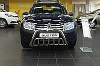 Защита переднего бампера (кенгурятник, бугель, дуга) Renault Duster