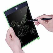 Графический LCD планшет для рисования 8.5 дюймов Writing Tablet зеленый