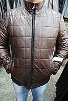 Куртка кожаная мужская A-29 Коричневый Зик