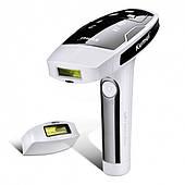 Домашний фотоэпилятор свето фото лазерный эпилятор для всего тела  Kemei KM 6812