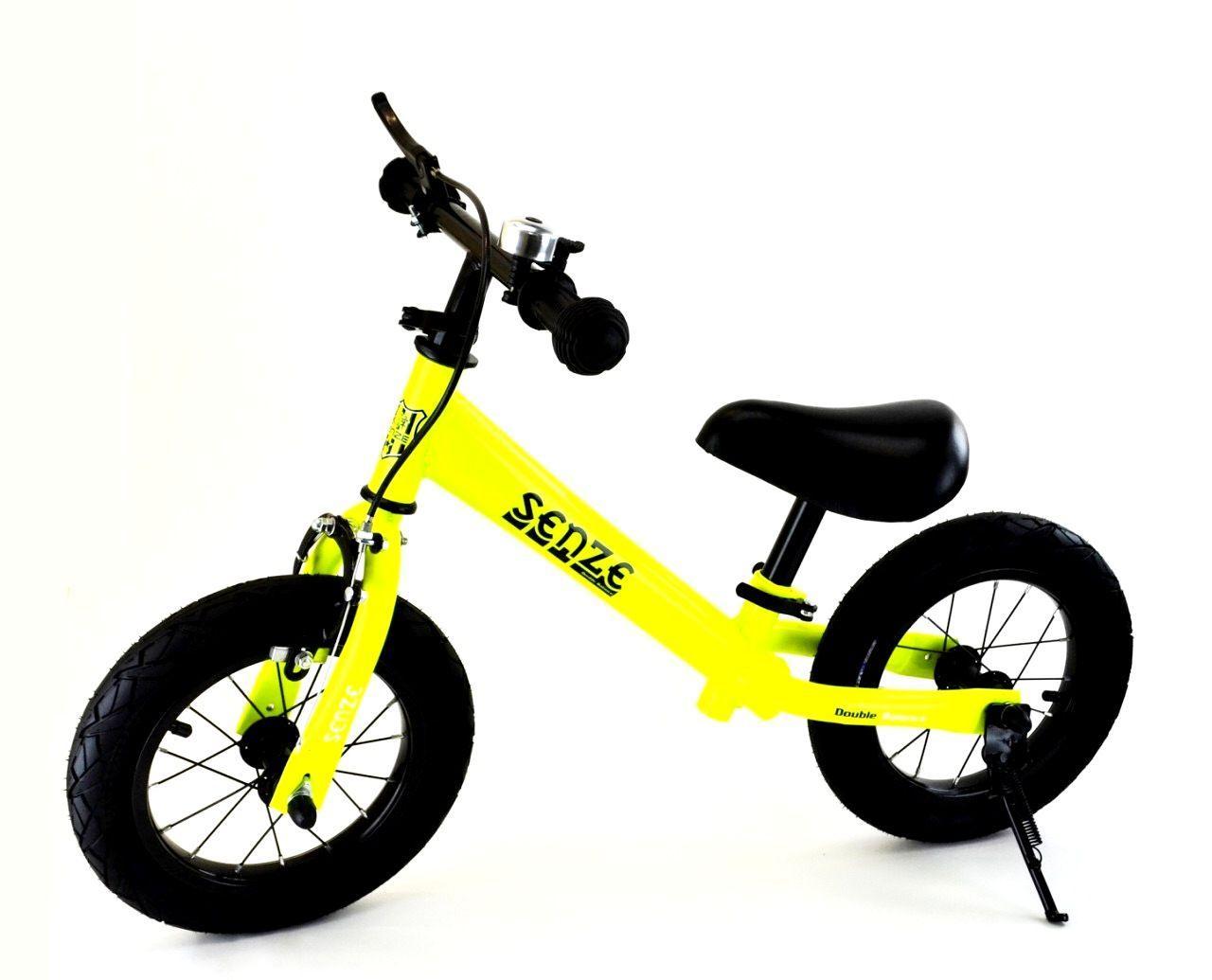 Беговел велобіг від зростання від 90 до 120 см вага до 50 кг Senze салатовий