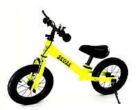 Беговел велобіг від зростання від 90 до 120 см вага до 50 кг Senze салатовий, фото 1