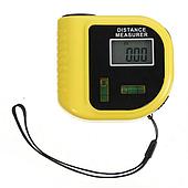 Рулетка лазерная линейка с уровнем дальномер электронный UKC CP-3010