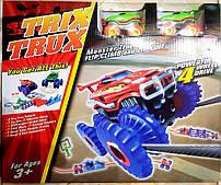 Конструктор Большой набор Trix Trux канатный трек 2 машинки Монстр траки