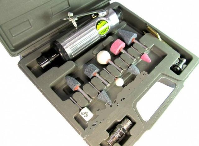 Alloid. Пневматич.шлифмашинка с комплектом шарожек  (ПШ- 1206)