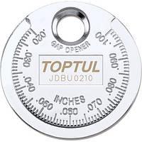 """Приспособление типа """"монета"""" для проверки зазора TOPTUL JDBU0210"""