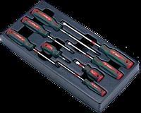 Инструмент HANS. Набор отверток в ложем. 8 пред. (TT-10)