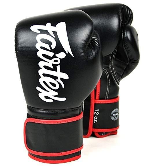 Боксерские перчатки FAIRTEX BGV14 - blk 10 унций