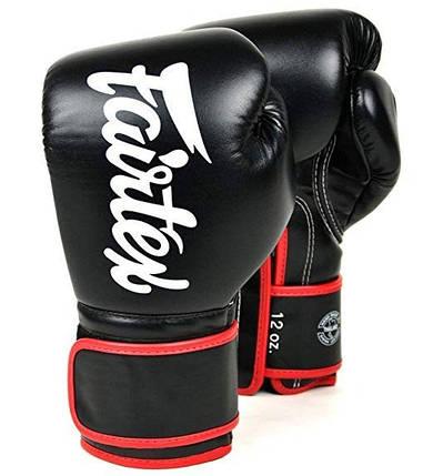 Боксерские перчатки FAIRTEX BGV14 - blk 10 унций, фото 2