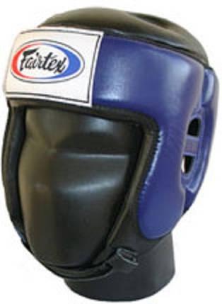 Шлем турнирный Fairtex HG9, M, синий, фото 2
