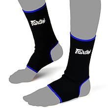 Поддержка лодыжки Fairtex AS1 черно-синий