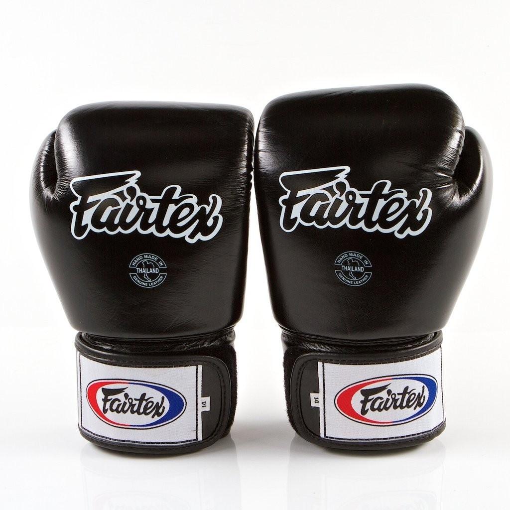 Боксерские перчатки FAIRTEX BGV1-blk 10 унций