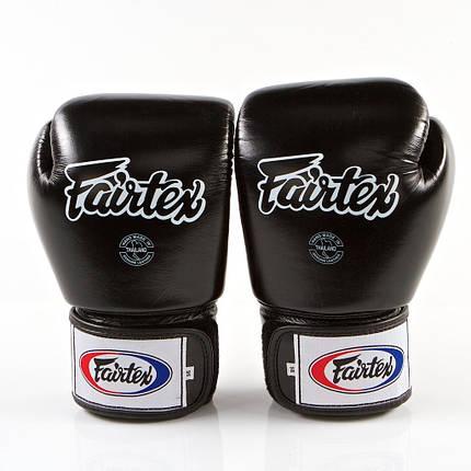 Боксерские перчатки FAIRTEX BGV1-blk 16 унций, фото 2