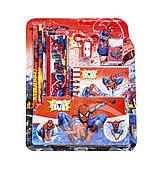 Канцелярский набор с блокнотом 6 предметов любимые герои  ЧЕЛОВЕК ПАУК 002779