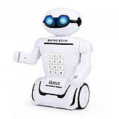 Дитяча скарбничка робот сейф з кодовим замком настільна лампа 3 в 1  Robot Piggy Bank білий