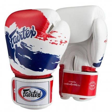 Боксерские перчатки FAIRTEX  BGV1 Thai Pride 10 унций, фото 2