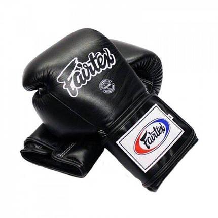 Боксерские перчатки FAIRTEX BGV5-blk 16 унций, фото 2