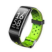 Фитнес браслет умный трекер тонометр IP68 Smart Band Q8 зеленый