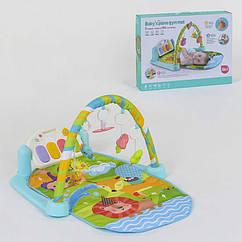 Коврик игровой Small Toys 9921 с музыкальной панелью 2-81420, КОД: 1681859