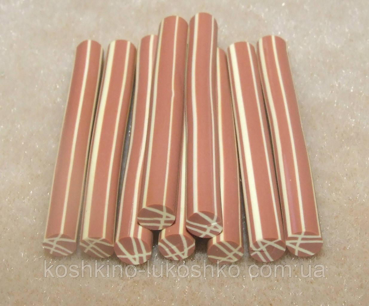 Фимо палочки (штанги).3-5 мм.