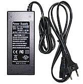 Зарядное устройство для зарядки электровелосипеда гироборда гироскутера сигвея сетевой адаптер  с кабелем 42V 2A UKC