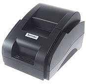 Термопринтер POS чековый принтер 58 мм Xprinter XP58IIH черный