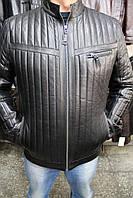 Куртка кожаная мужская SMR-51 Черный
