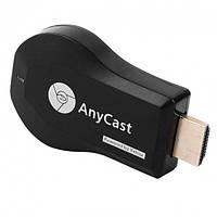 Бездротовий HDMI WiFi адаптер приймач Mirascreen картинка з телефону на ТБ ресивер AnyCast M4 Plus, фото 1