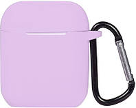 Кейс TOTO 2nd Generation Silicone Case AirPods Lavender 101689, КОД: 1309806