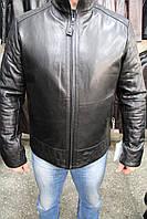Куртка кожаная мужская 103-ASTORLI Черный