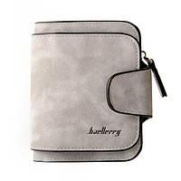 Женский замшевый кошелек портмоне бумажник клатч Baellerry Forever Mini 2346 серый, фото 1