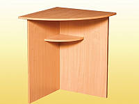 Стол угловой, закругленный — 600х600х750 мм