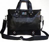 Стильная вместительная сумка-портфель Riefel. Сумка для документов, ноутбука. Высокое качество. Код: КЕ188